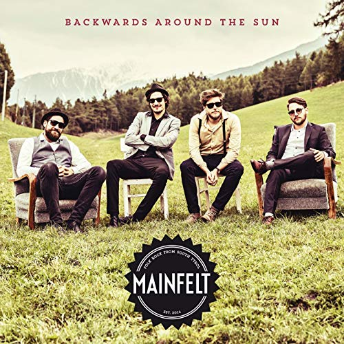 Backwards Around the Sun Cover Front